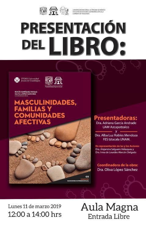 Presentación del libro Masculinidades y familias (1)